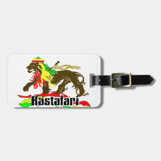 Reggae Rasta Iron, Lion, Zion 2 Bag Tag