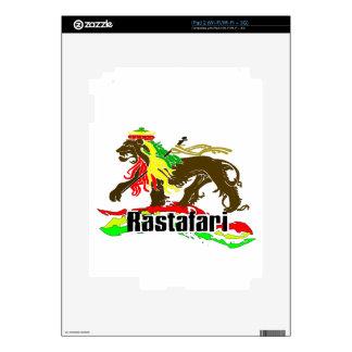 Reggae Rasta Iron, Lion, Zion 2 Decal For The iPad 2