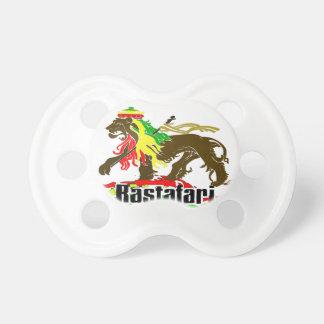 Reggae Rasta Iron, Lion, Zion 2 Pacifier