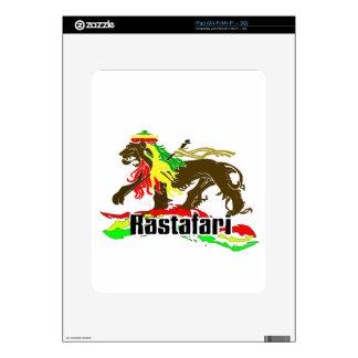 Reggae Rasta Iron, Lion, Zion 2 Skin For iPad