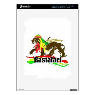 Reggae Rasta Iron, Lion, Zion 2 Skins For iPad 3