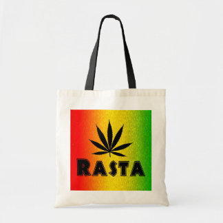 Reggae Rasta Leaf Jamaican Jamaica Budget Tote Bag Tote Bags