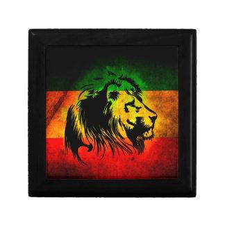 Reggae Rasta Lion Jewelry Box