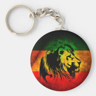 Reggae Rasta Lion Key Chain