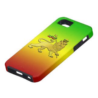 Reggae Rasta Lion of Judah iPhone SE/5/5s Case
