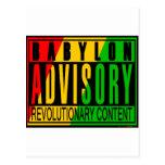Reggae RASTA Post Card