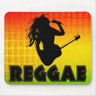 Reggae Rasta Rastafarian Mousepad jamaicano Tapetes De Ratón