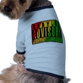 Reggae RASTA Camisetas Mascota