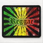 reggae rasta tapetes de raton