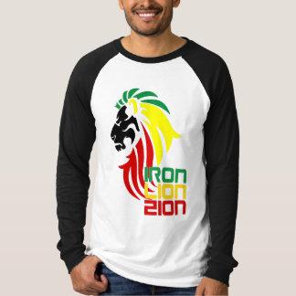 Reggae Rastafari Iron Lion Zion long sleeve shirt