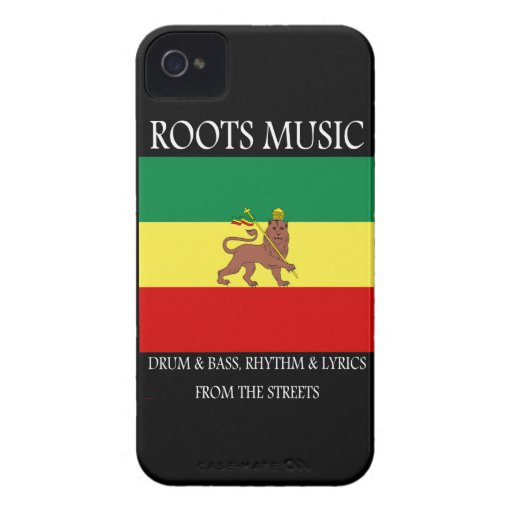 Reggae Roots Music Blackberry Bold Case-Mate Case
