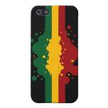 Reggae Splat 4 iPhone 5 Protector