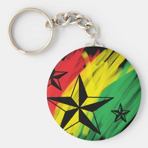 reggae stars keychain