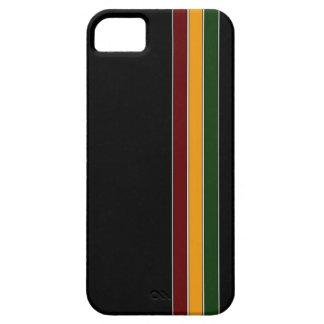 Reggae Stripes iPhone 5 Case