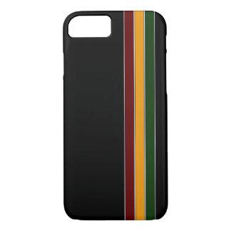 Reggae Stripes iPhone 7 case
