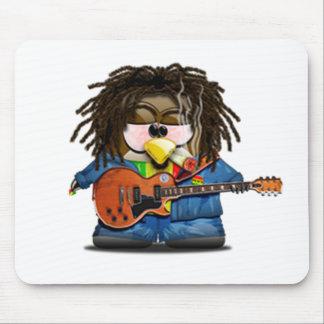 Reggae Tux del eje de balancín de Rasta Tapete De Ratón