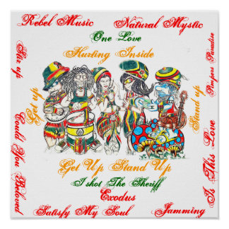 Reggae Unity Poster