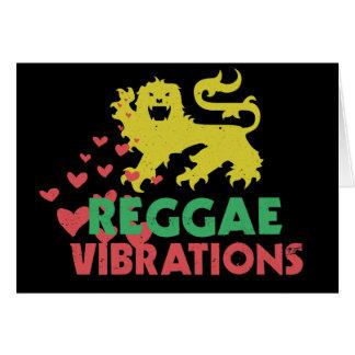 Reggae Vibrations Greeting Card