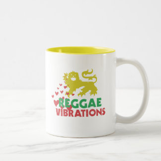 Reggae Vibrations Two-Tone Coffee Mug