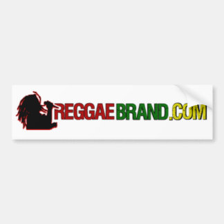 ReggaeBrand.com Bumper Sticker Car Bumper Sticker