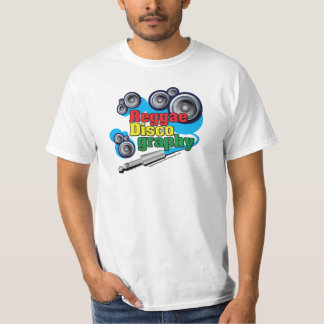 ReggaeDiscography Bubble Speakers T-shirt