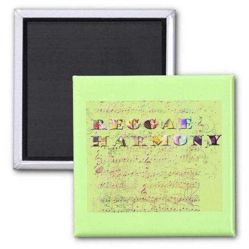 reggaeharmony 2 inch square magnet
