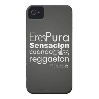 Reggaeton de los bailas del cunado del sensacion Case-Mate iPhone 4 protector
