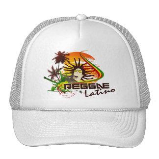 reggea latino trucker hat