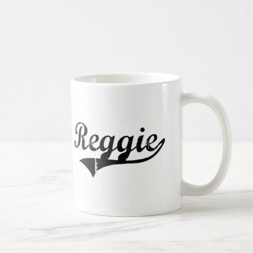 Reggie Classic Style Name Coffee Mug