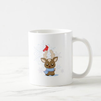 Reggie Reindeer & Jimmy Cardinal Coffee Mug