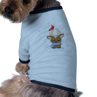 Reggie Reindeer & Jimmy Cardinal Dog Clothes