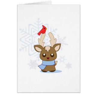 Reggie Reindeer & Jimmy Cardinal Greeting Cards