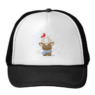 Reggie Reindeer & Jimmy Cardinal Trucker Hat