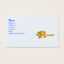 Reggie Rooster Business Card