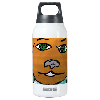 Reggie the dog insulated water bottle