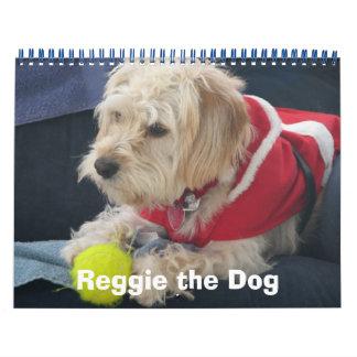 Reggie the Dog's 2009 Christmas Calendar