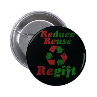 Regift for Christmas Buttons