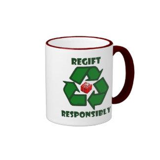 Regift Responsibly Mugs