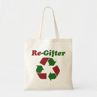 ReGifter for Christmas Canvas Bag