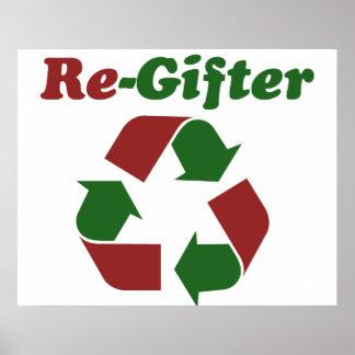 ReGifter para el navidad Póster