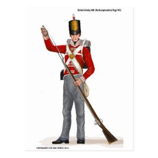 Regimiento 1812 de Británicos 48.os Postales