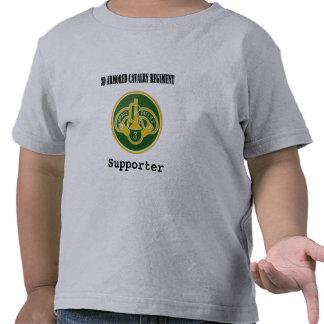 regimiento de caballería acorazada 3d camisetas