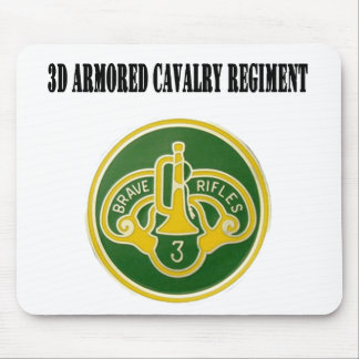 regimiento de caballería acorazada 3d alfombrilla de ratones