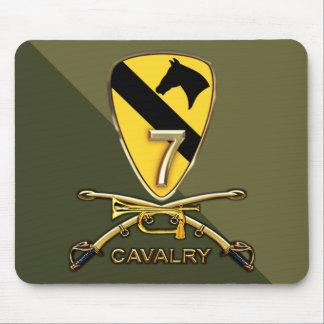 Regimiento de caballería de US.Army 7mo Tapetes De Ratones