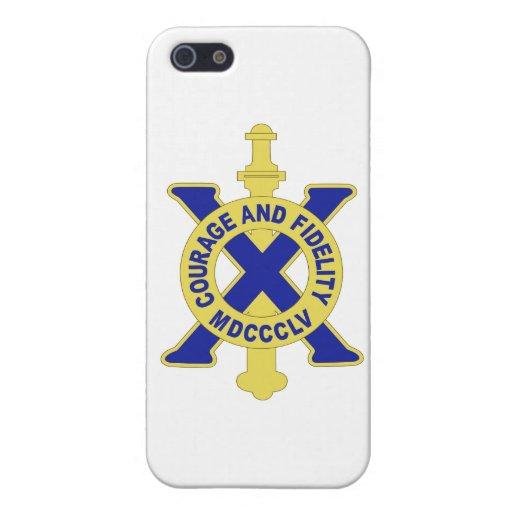 Regimiento de infantería 10 iPhone 5 cárcasas
