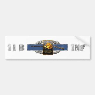 regimiento de infantería 11B 27mo Pegatina Para Auto