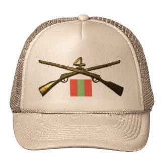 regimiento de infantería 2BN 4to alistado Gorras