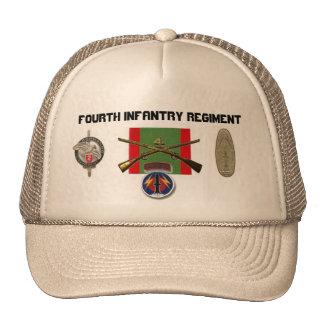 regimiento de infantería 2BN 4to Pershing Gorra