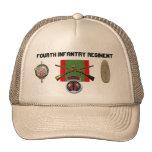 regimiento de infantería 2BN 4to Pershing Gorros