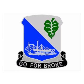 Regimiento de infantería 442 postales